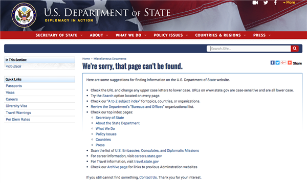 Trump Administration Removes LGBTQ Content From FederalWebsites
